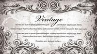 Klassische handgemalten Muster 02 - Vektor Material