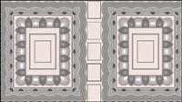 Klassische Muster Rahmen 04 - Vektor Material