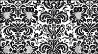 Europeos patrones finos 04 - vectoriales