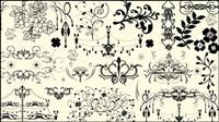 Europäische Muster Ecken - Vektor