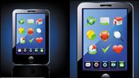 Bleu de technologie des produits icône de 02 - mat��riel vecteur