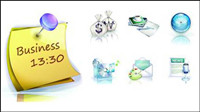 Business exquisite 3D-Vektor-Material -1