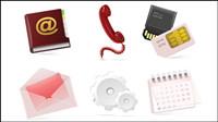 Los iconos de tecnolog¨ªa - vector de material