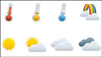 Weather icon - vecteur
