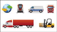 Transports icône 01 - vecteur