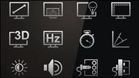 Technologie icône 03 - vecteur mat��riel