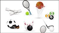 Sport-connexes icônes 02 - vecteur