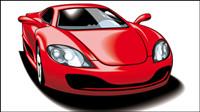 Beaux-voiture de sport 05 - mat��riel vecteur