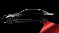 Car Silhouette Vektor Material -4