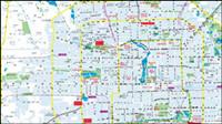 Peking Stadtplan Vektor