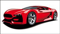 Coche deportivo Hermosa 03 - material de vectores