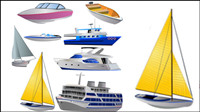 vecteur des navires