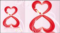 38 femmes vecteur mat��riel th��me de la Journ��e -2