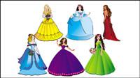 Belle Princesse 04 - mat��riel vecteur