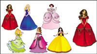 Belle princesse 02 - vecteur