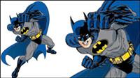 Batman Vektor Material