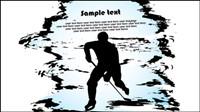 Deportes silueta 03 - material de vectores