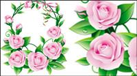 Belles fleurs 05 - mat��riel vecteur