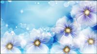 Fantasy Blumen unter der Sonne Vektor Material