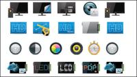 Tecnolog��a icono de 01 - vector