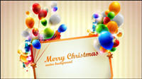 Brilliant Christmas gift box 04 - vector de material