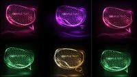 Hohe Licht schillernde Textur icon 02 - Vektor
