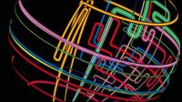 La ligne de flux dynamique commerciale 04 - mat��riel vecteur