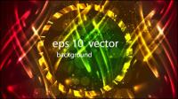 Le fond halo lumineux 04 - mat��riel vecteur