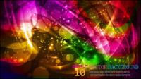 Halo hellen Hintergrund 05 - Vektor Material
