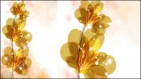 Coloridas flores 02 - vector de material