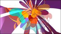 Magnifique mod��le de couleur du motif 02 - mat��riel vecteur