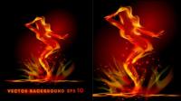 Flammeneffekt 04 - Vektor Material