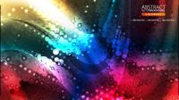 Die brillante dynamische fließende Farbe 02 - Vektor Material