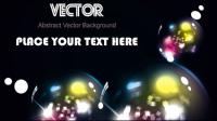 Wunderschöne dynamische Sternenlicht Hintergrund 02 - Vektor Material