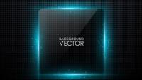 Fronti��re de texture de verre 03 - mat��riel vecteur