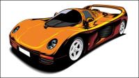 Coche deportivo Hermosa 02-vector