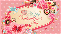 Valentinstag Etikett - Vektor
