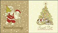 Wunderschöne Weihnachten Muster - Vektor