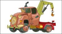 Peints main cartoon voiture 04 - vecteur