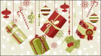 Schöne Weihnachts-Muster 02 - Vektor