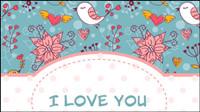 Illustration Valentine 04 - vecteur