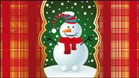 Belle fond de Noël 03 - vecteur mat��riel