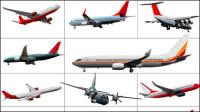 Sumideros de aeronaves 02 - vectoriales