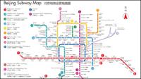 Subway map de Beijing en chinois et anglais