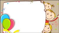 Cartoon Student Illustrator 01 - Vektor Material