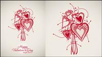 Valentine background 03 - mat��riel vecteur