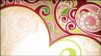 Exquisite Muster Hintergrund - Vector
