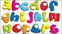 Font Design Series 54 - Vektor Material