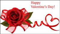 Valentine background 02 - mat��riel vecteur