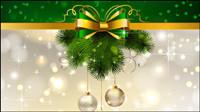 De fondo de Navidad decoraci¨®n 04 - vector de material
